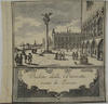 Set of 7 etchings of Venice